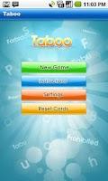 Screenshot of Taboo