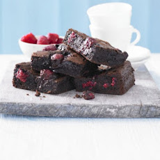 Best-ever Chocolate Raspberry Brownies