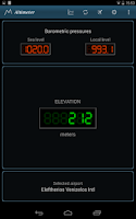 Screenshot of Barometer and Altimeter