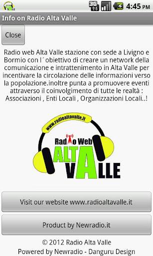 玩免費音樂APP|下載Radio Alta Valle app不用錢|硬是要APP
