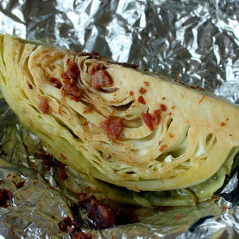 Roasted (Wish They Were Grilled) Cabbage