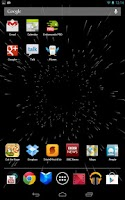 Screenshot of 3D Stars Live Wallpaper FREE