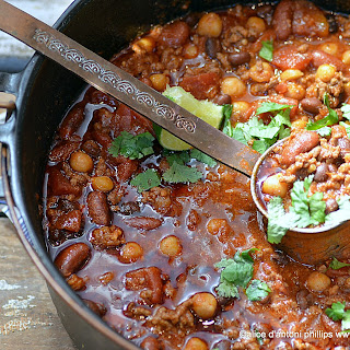 Mexican Chorizo Chili