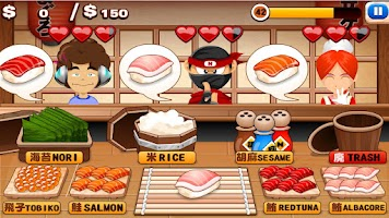 Screenshot of Sushi Stand HD FREE