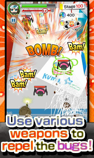 bugs-army-free-shooter-game for android screenshot