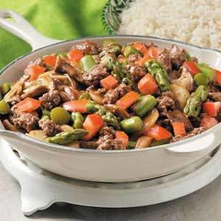 10 Best Ground Beef Asparagus   Ground Turkey, Ground Chicken and Beef ...