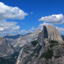 Yosemite Halfdome by Sanjib Paul - Landscapes Mountains & Hills