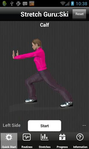 【免費健康App】Stretch Guru:Ski-APP點子