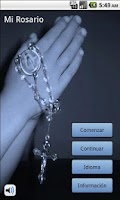 Screenshot of My Rosary