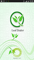 Screenshot of Leaf Dialer