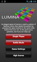 Screenshot of Lumina