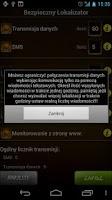 Screenshot of Bezpieczny Lokalizator 3.5