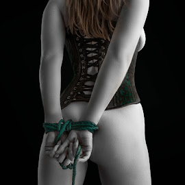 Rope by Robby Ticknor - People Body Parts ( rope bondage, bdsm, sexy, rope, corset, bondage )