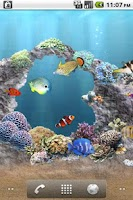 Screenshot of aniPet Aquarium Live Wallpaper