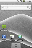 Screenshot of Wave Live Wallpaper Lite