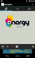 Screenshot of Energy 93.4