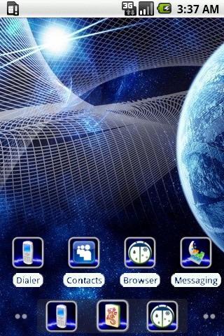 Tech Galaxy [SQTheme] for ADW