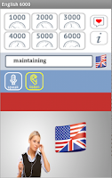Screenshot of English 6000 Free