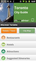 Screenshot of Toronto City Guide