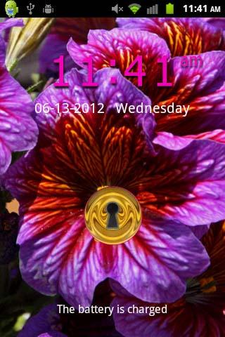 Bright Flowers II GO LOCKER