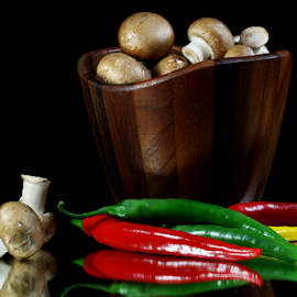 by Dipali S - Food & Drink Fruits & Vegetables ( nutrition, peppers, vitamins, c, food, vegetables, immunity, health, stir fry, mushrooms,  )