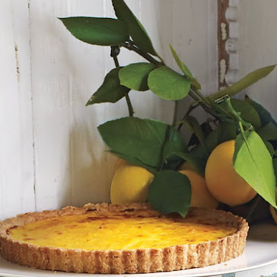 Rustic Meyer Lemon Tart
