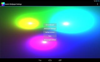 Screenshot of Atomic Live Wallpaper FREE
