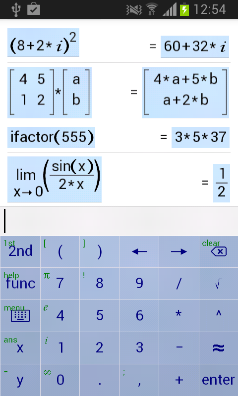 Medical calculator formulas for algebra