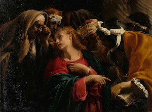 RIJKS: Orazio Borgianni: Christ among the Doctors 1609