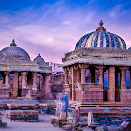 Monuments of the ancient royal by Pradyumna Verma - Buildings & Architecture Statues & Monuments ( ancient, india, architecture, historical, kings,  )
