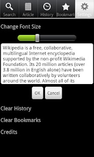 Screenshots  Wiki Encyclopedia Offline-Free