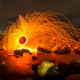 steelwool by Sonni Suryatmojo - Abstract Light Painting