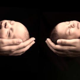my son and my daughter by Serhan Tekin - Babies & Children Babies