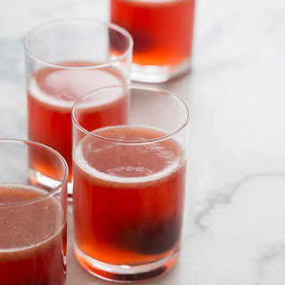Sweet Cherry Ginger Spiked Soda