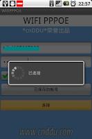Screenshot of WIFI PPPOE