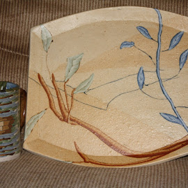 Earth Fire Branch Pottery by Sharen Branch - Artistic Objects Cups, Plates & Utensils