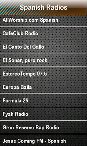 Spanish Radio - español radio