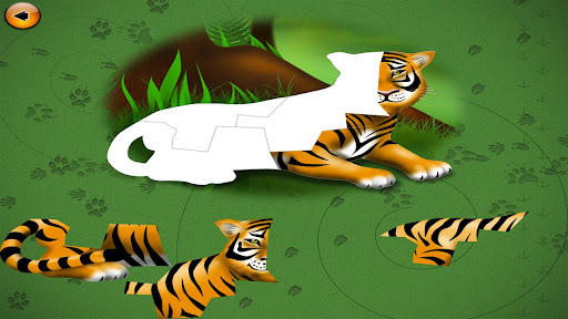 Learn Animals with Puzzles