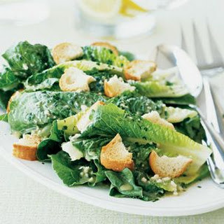 Hearts of Romaine with Garlic Croutons