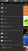 Screenshot of Boost Mobile Music Store