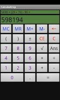 Screenshot of CalculaDrop
