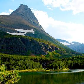 The Green Giant  by Denver Pratt - Landscapes Mountains & Hills