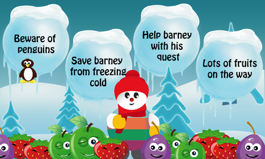 Barney : The Snowman - screenshot
