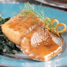 Honey-Mustard Glazed Salmon Recipe