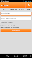Screenshot of Opwaarderen.nl – Beltegoed App