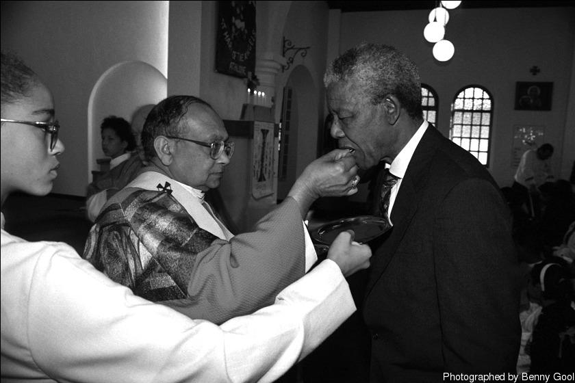 """""""当他亲自出现在我面前接受圣礼时,我完全惊呆了..."""""""