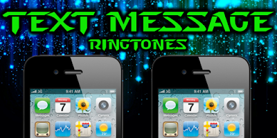 Screenshot of Text Message Ringtones