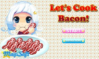 Screenshot of Let's Cook Bacon