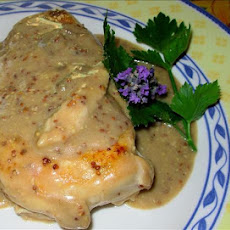 Elegant Lavender and Lemon Poached Chicken Breasts