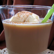 Coffee Almond Float